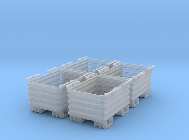 Stahlbox 1:45 4x 3d printed So werden die Boxen geliefert