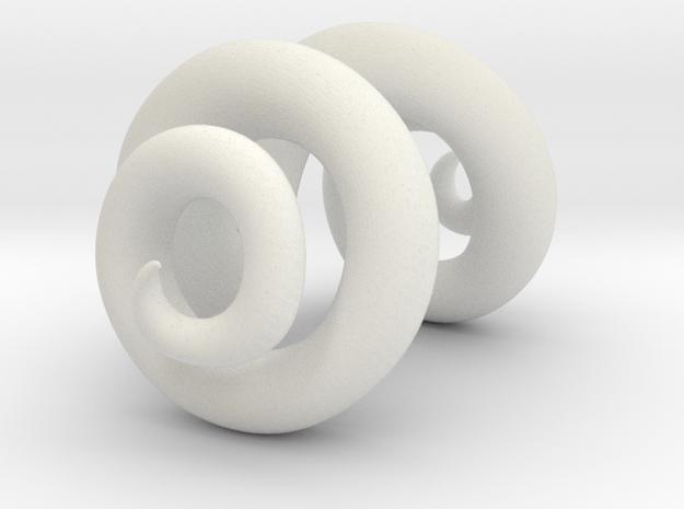 Large Ram Horns 3d printed