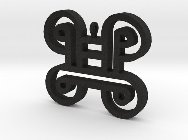 MPATAPO in Black Acrylic