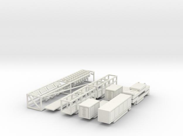 Set Fuhrpark 10 m für 1:160 (n scale) 3d printed