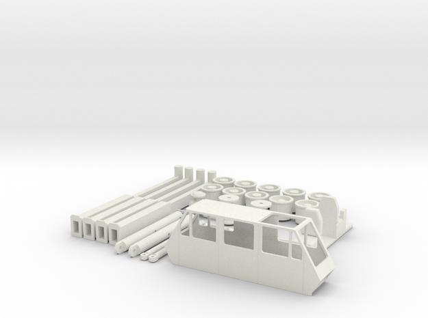 AMK86 Zubehoer in White Natural Versatile Plastic