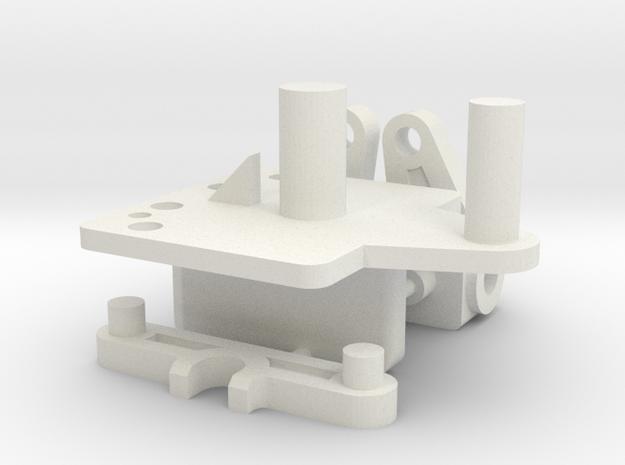 Sparepartkit Steering in White Natural Versatile Plastic