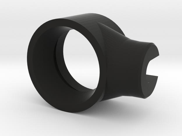 Recurve Archery Aperture 15mm in Black Natural Versatile Plastic