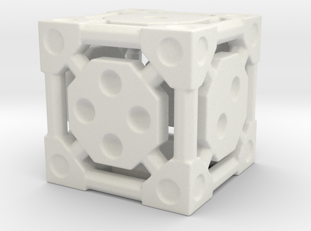 SciFi Die in White Strong & Flexible