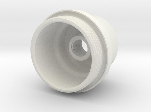 E35FilterCap in White Strong & Flexible