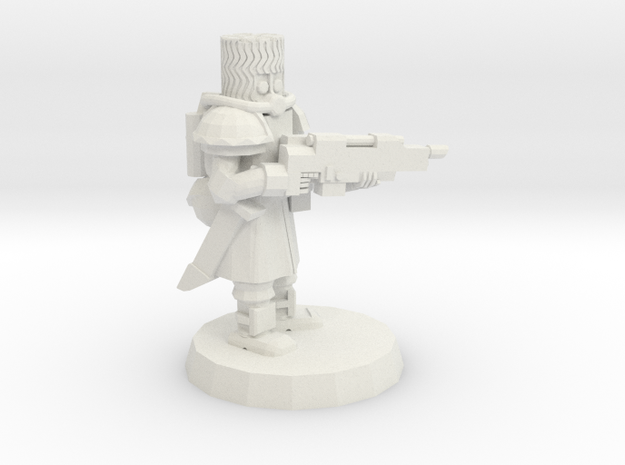 Space Cossack Trooper 3d printed