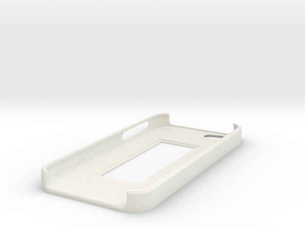 iPhone 5 Moo mini card case in White Natural Versatile Plastic