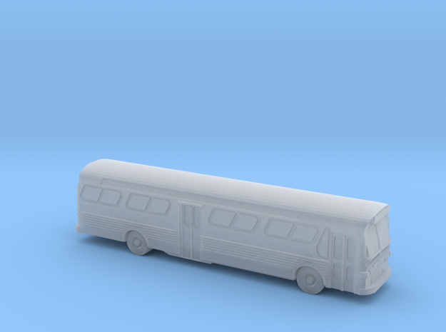 GM FishBowl Bus - Nscale in Smooth Fine Detail Plastic