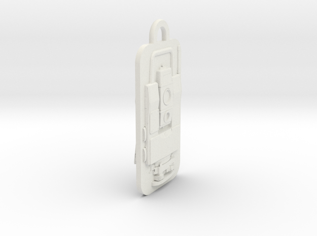 Geodimeter 600 Fob in White Strong & Flexible