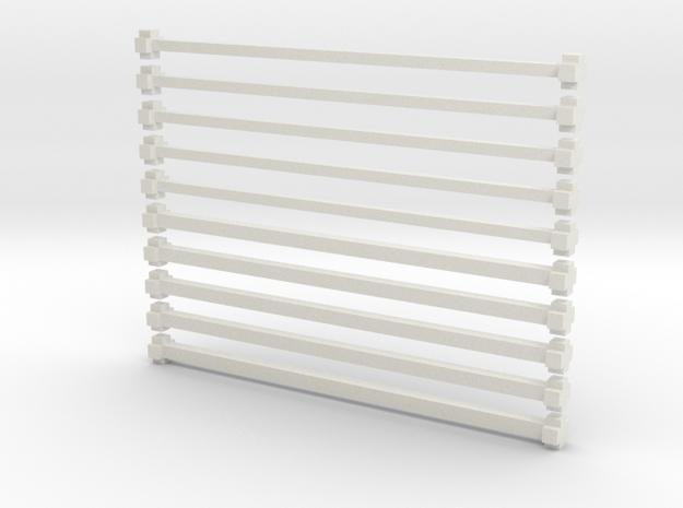 x bars 3d printed