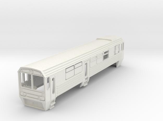 Mbxd2 Railcar 7mm Scale in White Natural Versatile Plastic