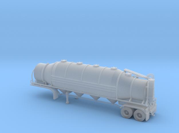 N scale 1/160 Heil 1625V Dry Bulk, Trailer 10b in Smooth Fine Detail Plastic