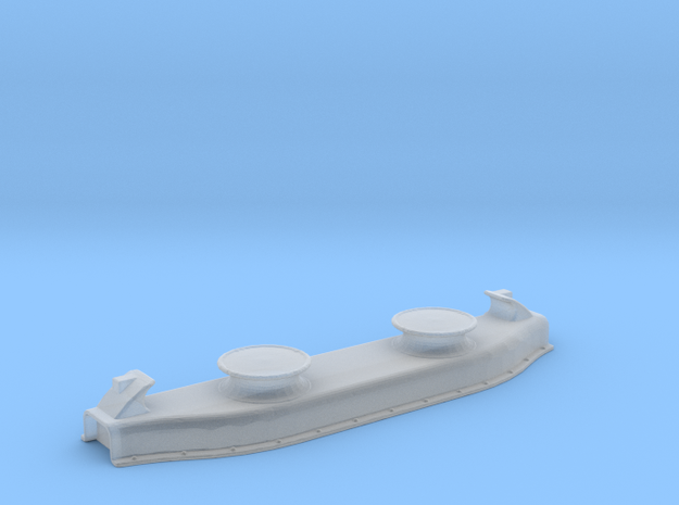 Titanic Double Fairlead - Scale 1:100 in Smooth Fine Detail Plastic