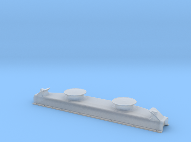 Titanic Double Fairlead 1-72 in Smooth Fine Detail Plastic