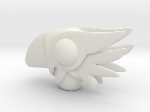 Sakura wand bird top  3d printed