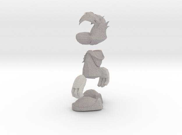 Rayman3model 3d printed