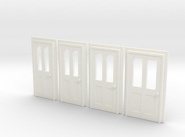 Door Type 6 - 4mm Scale 3d printed
