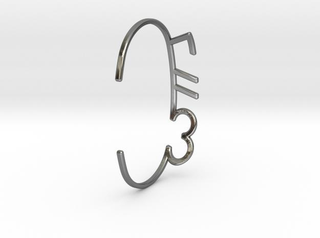 ThreeFN Bracelet - Ladies in Premium Silver