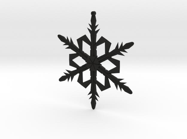 Snowflake1a 3d printed