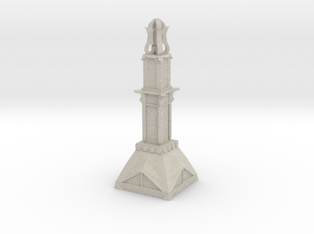 Temple Pillar 3d printed