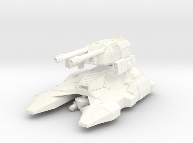 M1A7 MK2 in White Processed Versatile Plastic