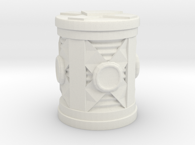 Hi-Tech Barrel in White Strong & Flexible