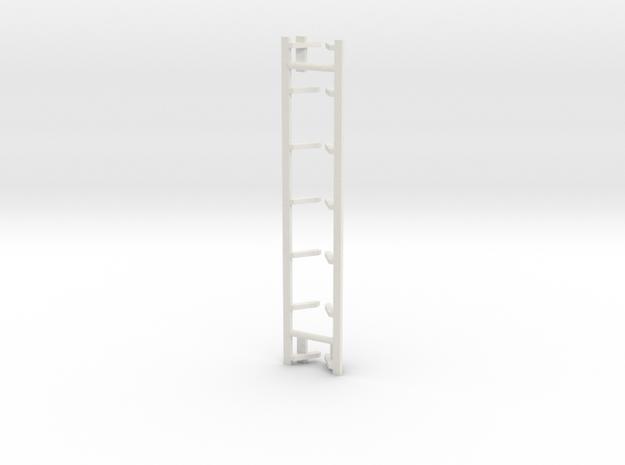 Treden Dg NS 2300 versie met buik schaal N in White Natural Versatile Plastic