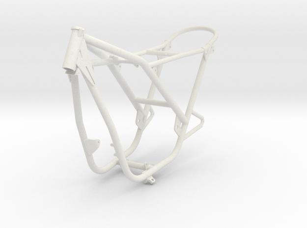 FuryFrameScaled in White Strong & Flexible
