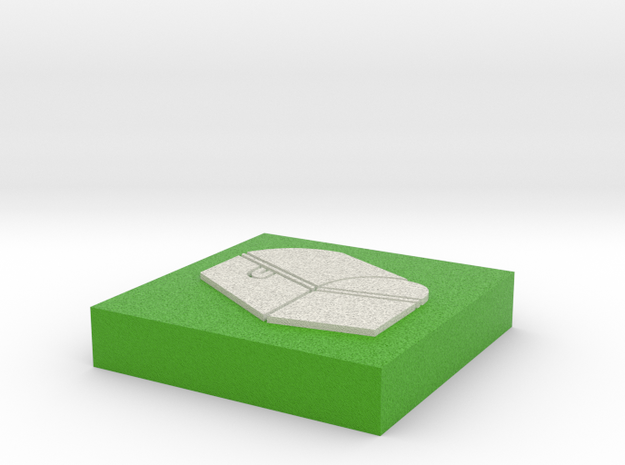 """Square Token - 1"""" Chest 3d printed"""