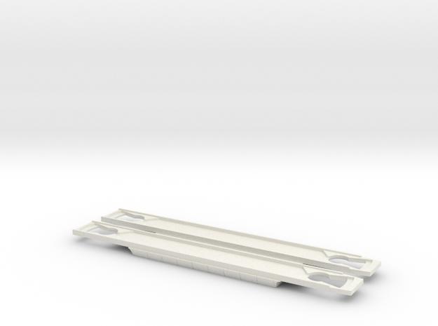 mat 54 bodemplaat in White Natural Versatile Plastic