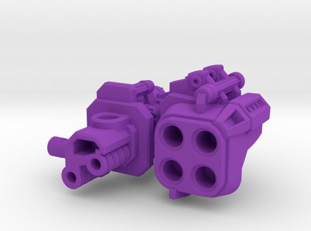Quadricore Explodator 3d printed