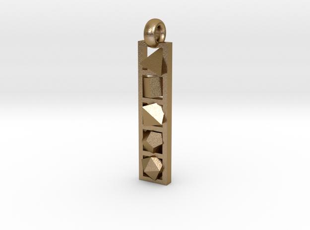 platonic solids pendant