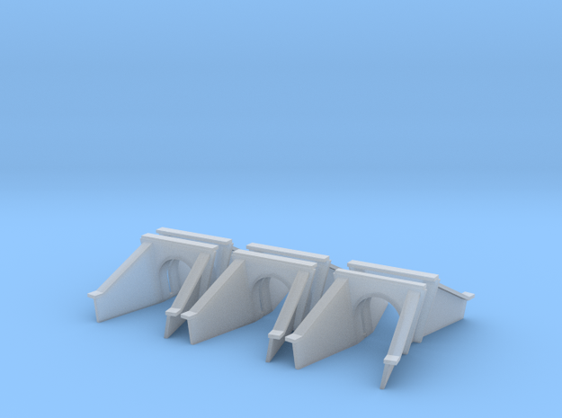 5 Foot Concrete Culvert HO X 6 in Smooth Fine Detail Plastic