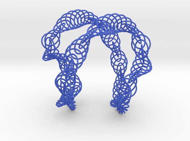 Wanna Jumble - Necklace 3d printed