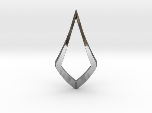 """""""Hidden Heart"""" LUCENT, pendant 3d printed"""