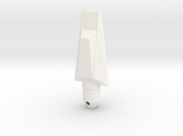 NC-5 (Downscale Orion/Manta) in White Processed Versatile Plastic