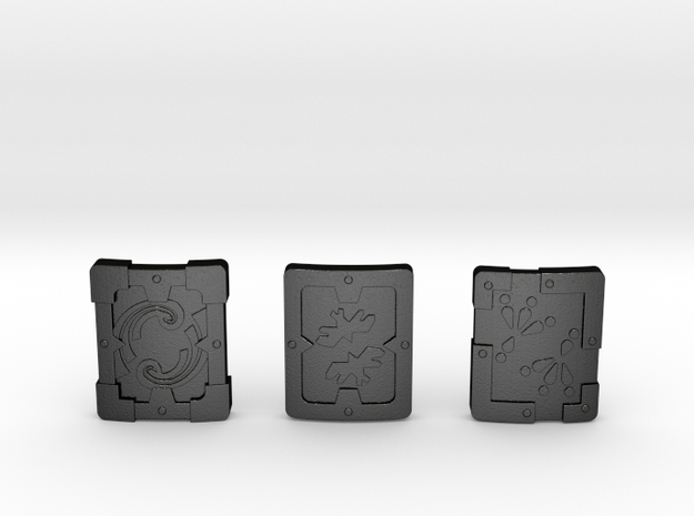 Iron Shield Pack 3d printed