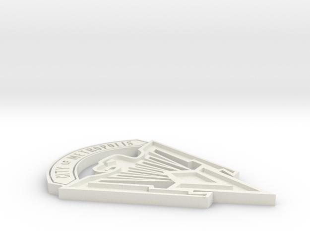 key face for smallville metropolis key in White Natural Versatile Plastic