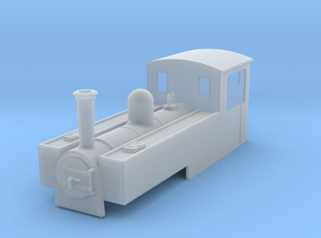 OO9 replacement body for liliput 0-6-2t