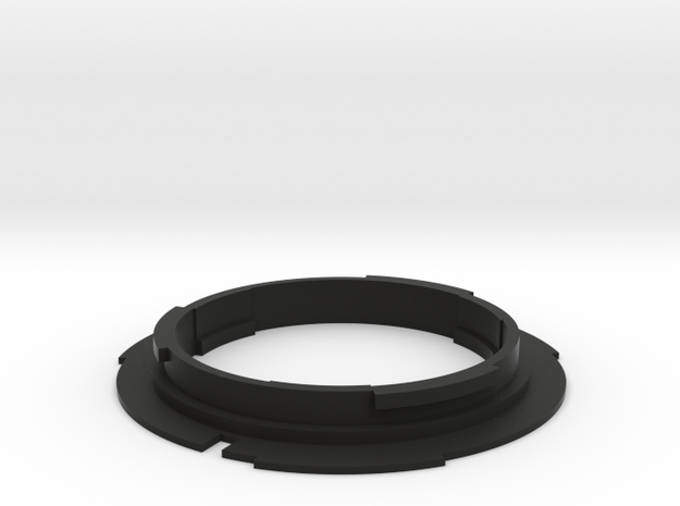 F mount lens to EF mount camera adapter