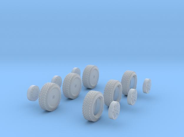1-64 Ford Raptor Tire+Rim 3d printed