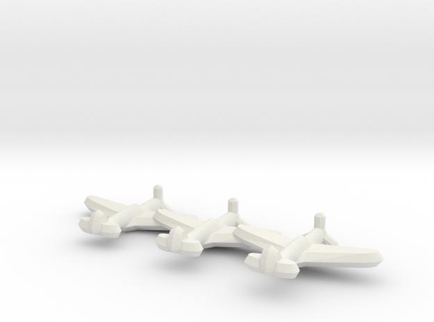 A-29 Kittyhawk (Triplet) 1/900 3d printed