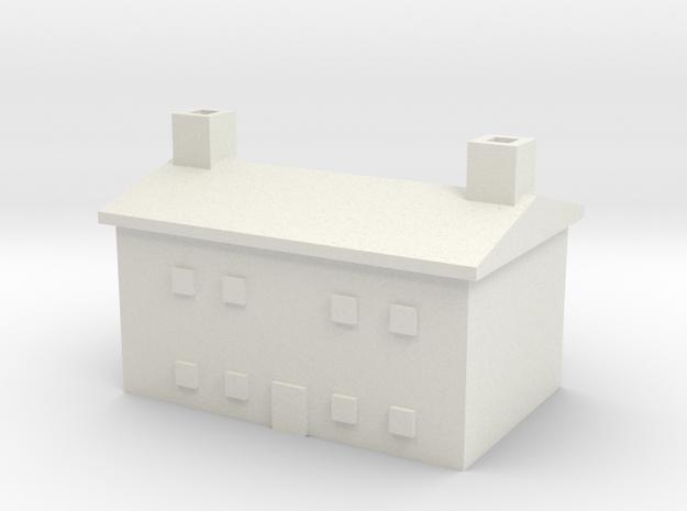 1/700 Farm House 2 in White Natural Versatile Plastic