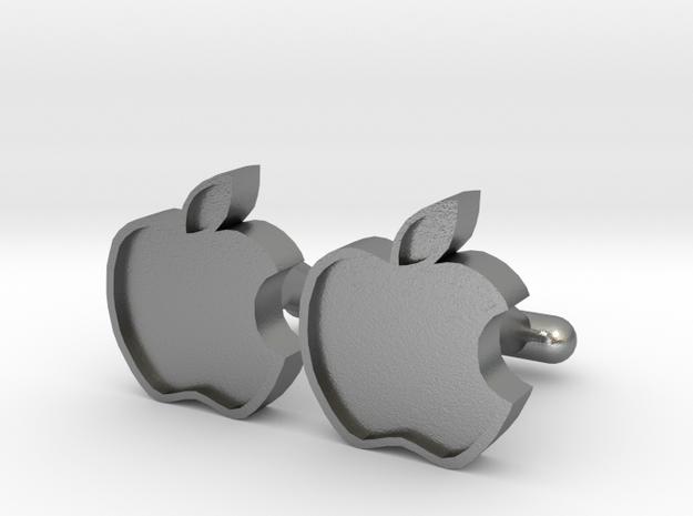 Apple Cufflink 3d printed