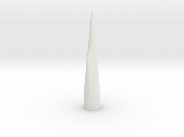 NC-60 (Upscale PNC-50SP) NO Shoulder in White Natural Versatile Plastic