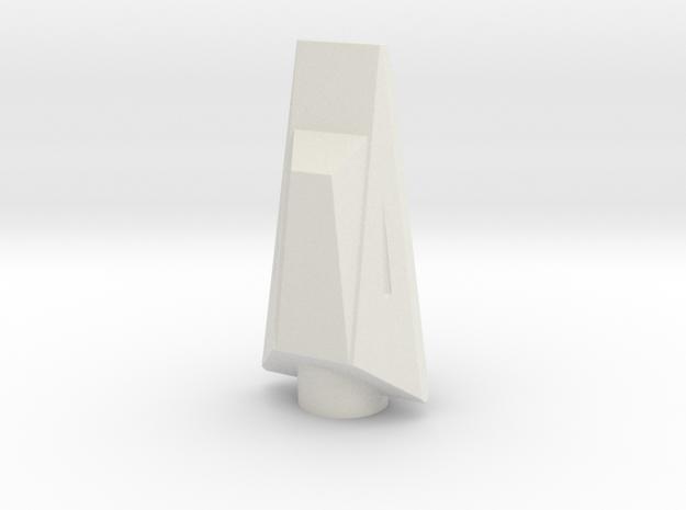 NC-80 (Upscale Orion/Manta) NO Shoulder in White Natural Versatile Plastic