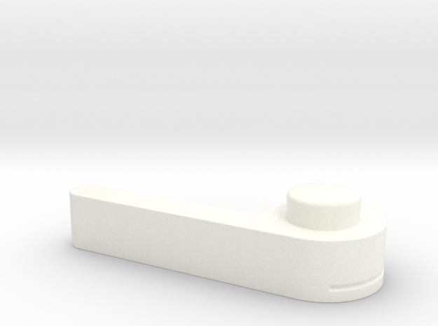 Bugaboo Gen2 Brake Lever in White Processed Versatile Plastic