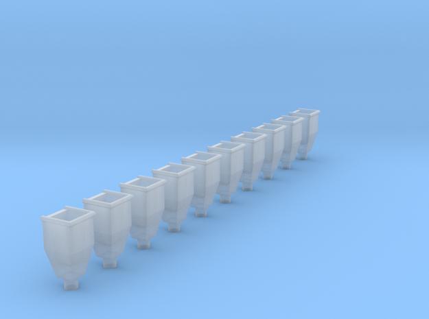 RZ-Wasserfangkasten 10x in Smooth Fine Detail Plastic
