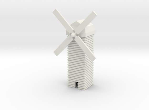 1/700 Windmill in White Natural Versatile Plastic