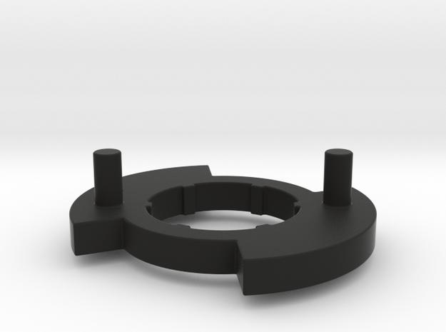 Bugaboo Gen 3 Disk(L)  in Black Strong & Flexible